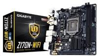 GIGABYTE MB Sc LGA1151 Z170N-WIFI, Intel Z170, 2xDDR4, VGA, mini-ITX