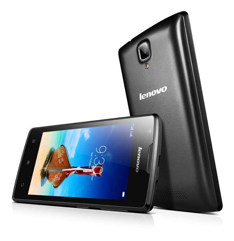"Lenovo Smartphone A1000 Dual SIM/4,0"" TN/800x480/Quad-Core/1,3GHz/1GB/8GB/5Mpx/3G/Android 5.0/Black"