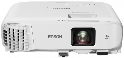 EPSON projektor EB-992F, 1920x1080, Full HD, 4000ANSI, USB, HDMI, VGA, LAN,17000h ECO + kamera Sandberg za 490 Kč!