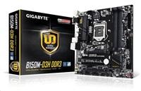 GIGABYTE MB Sc LGA1151 B150M-D3H DDR3, Intel B150, 4xDDR3, VGA, mATX