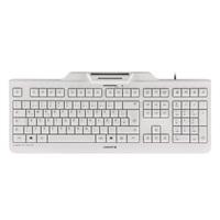 CHERRY klávesnice se čtečkou karet KC 1000 SC/ USB/ ISO 7816 podporované karty/ bílá/ EU layout