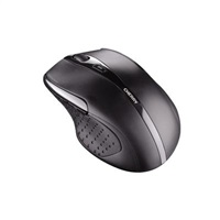 CHERRY myš MW 3000, USB, bezdrátová, energy-saving, mini USB receiver, designová, ergonomická, černá