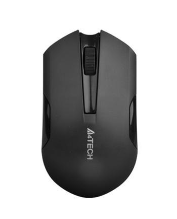 A4tech G3-270N-1, V-Track, bezdrátová optická myš, 2.4GHz, 10m dosah, černo-šedá
