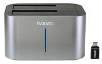 EVOLVEO Dion 2, 10Gb/s, dokovací stanice, USB 3.1 A + redukce USB A/USB C ROZBALENO
