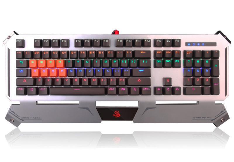 A4tech Bloody B740A profesionální mechanická herní klávesnice, voděodolná, USB, CZ