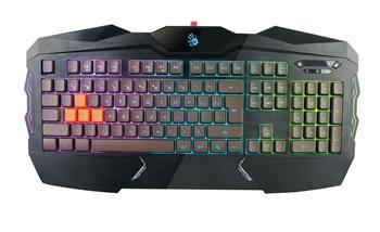 A4tech Bloody B254 podsvícená herní klávesnice, 4 mechanické klávesy, USB, CZ