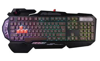 A4tech Bloody B314 podsvícená herní klávesnice, 4 mechanické klávesy, USB, CZ
