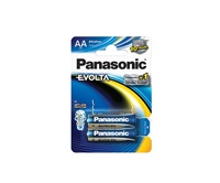 PANASONIC Alkalické baterie - EVOLTA Platinum AA 1,5V balení - 2ks