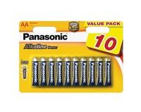 PANASONIC Alkalické baterie - Alkaline Power AA 1,5V balení - 10ks