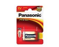 PANASONIC Alkalické baterie - Pro Power 9V 9V balení - 1ks