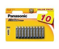 PANASONIC Alkalické baterie - Alkaline Power AAA 1,5V balení - 10ks