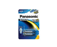 PANASONIC Alkalické baterie - EVOLTA Platinum AAA 1,5V balení - 2ks