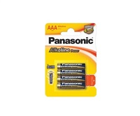 PANASONIC Alkalické baterie - Alkaline Power AAA 1,5V balení - 4ks