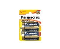 PANASONIC Alkalické baterie - Alkaline Power LR20A, velikost D, 1,5V balení - 2ks