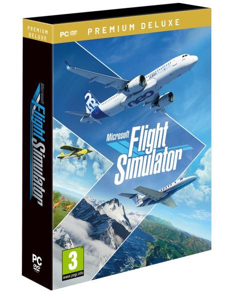 PC - Microsoft Flight Simulator Premium Deluxe