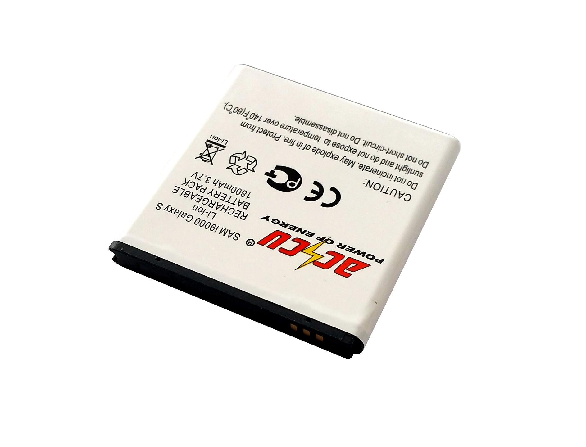 Baterie Accu pro Samsung Galaxy S, Li-ion, 1800mAh