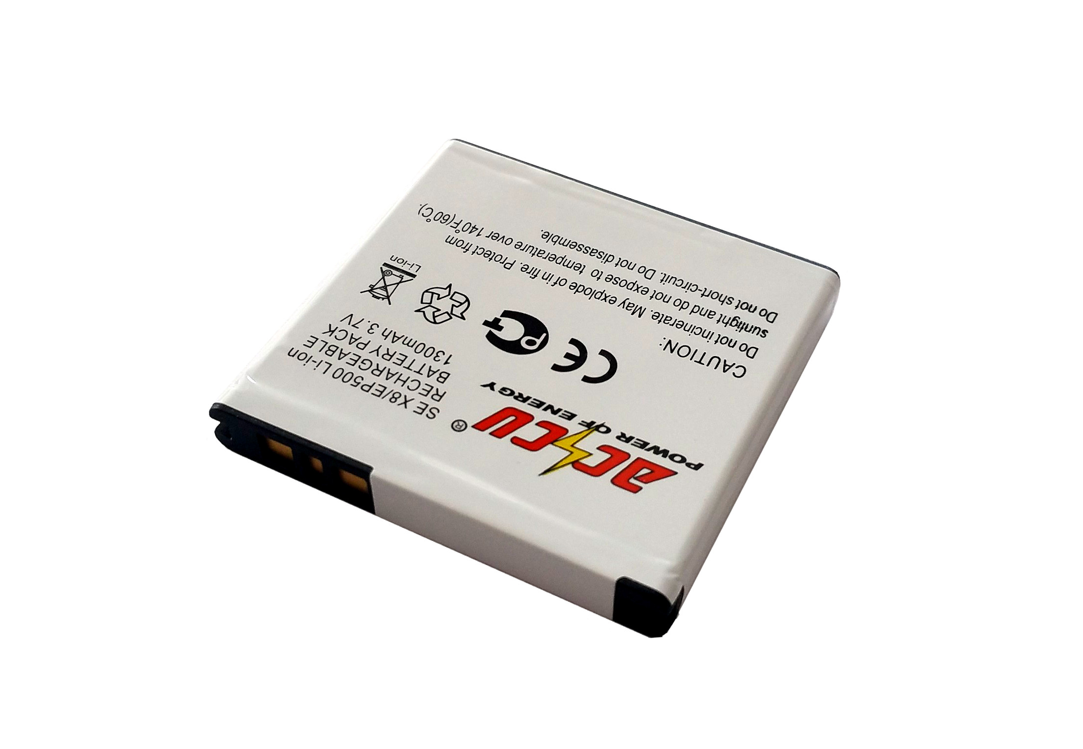 Baterie Accu pro Sony Ericsson Xperia X8, Li-ion, 1300mAh