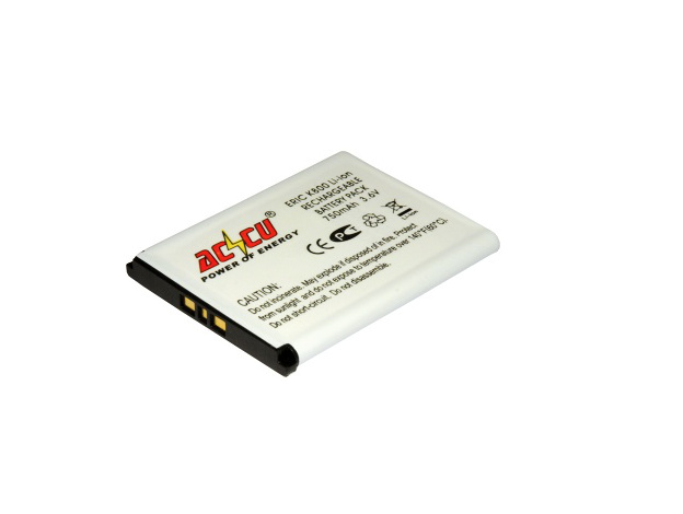Baterie Accu pro Sony Ericsson K800, J100, K550, K790, M600, P990i, W300i, W850i, Li-ion, 1050mAh