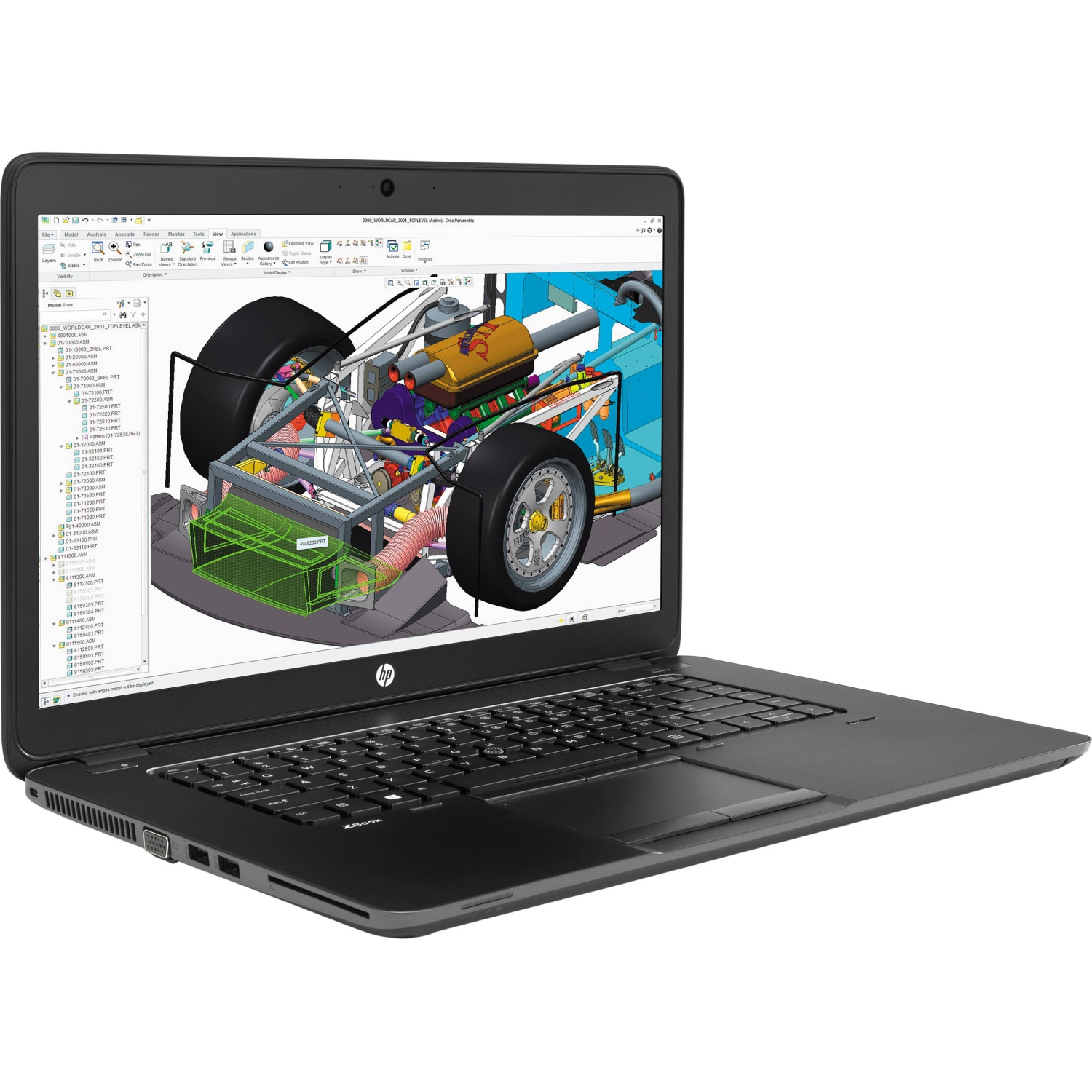HP Zbook 15u i7-5500U/8GB/256GB Z Turbo Drive PCIe | no Primary/AMD Firepro M4170 1GB /15,6'' FHD/Win 10 Pro + Win 7 Pro