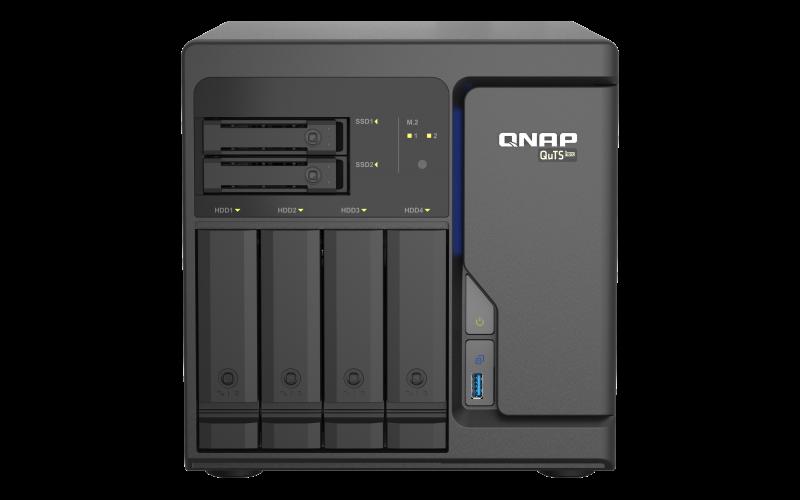 QNAP TS-h686-D1602-8G (2C/Xeon D-1602/2,5-3,2GHz/8GBRAM/4x3,5SATA/2x2,5SATA/2xM.2/4x2,5GbE/3xUSB3.2/2xPCIe)