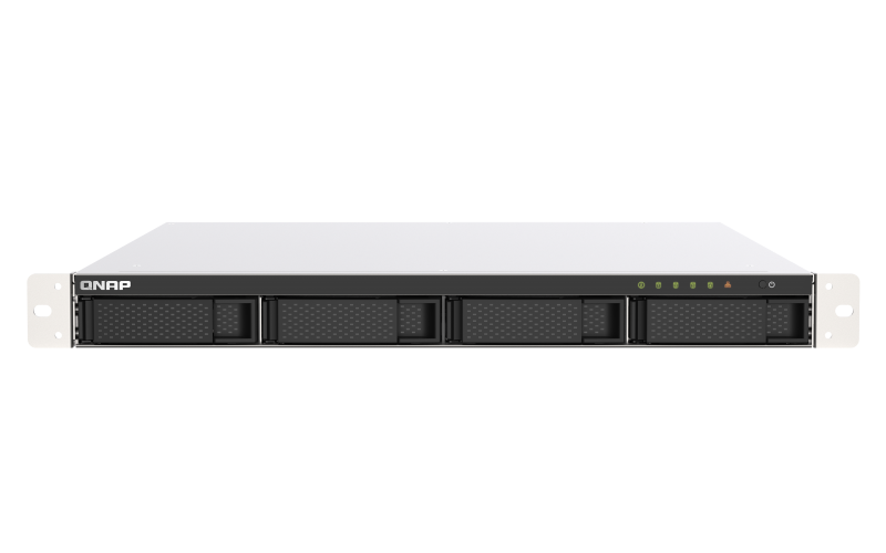 QNAP TS-453DU-RP-4G (2,7GHz / 4GB RAM / 4x SATA / 2x 2,5GbE / 1x PCIe / 1x HDMI / 4x USB / 2x zdroj)