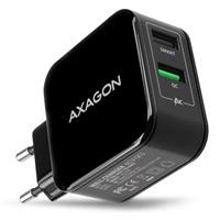 Bazar - AXAGON ACU-QC5, QUICK a SMART nabíječka do sítě, 2x port QC3.0/AFC/FCP + 5V-2.6A, 31W, z opravy