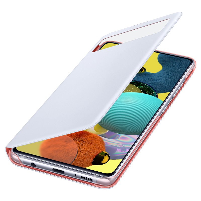 Samsung Flipové pouzdro S View Galaxy A51 5G White