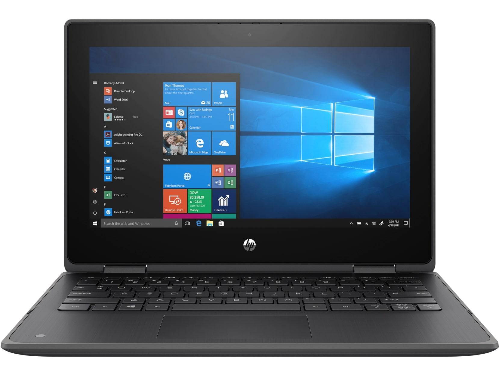 HP ProBook x360 11 G5, Pentium Silver N5030, 11.6 HD/Touch, UMA, 8GB, SSD 256GB, W10, 1-1-0, Gray