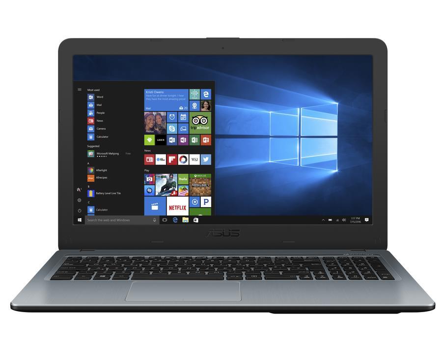 "ASUS Laptop X540MA - 15,6"" FHD/Pentium Silver N5000/4GB/1TB HDD/W10 Home (Silver Gradient/Plastic)"