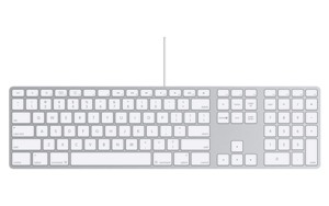 Apple Wired Keyboard CZ s numerickým blokem