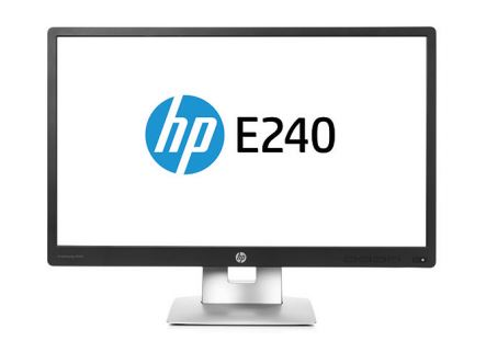 HP EliteDisplay E240/23,8'' IPS/1920x1080/1000:1/7ms/250cd/VGA,DP,HDMI,USB/ 3/3/0