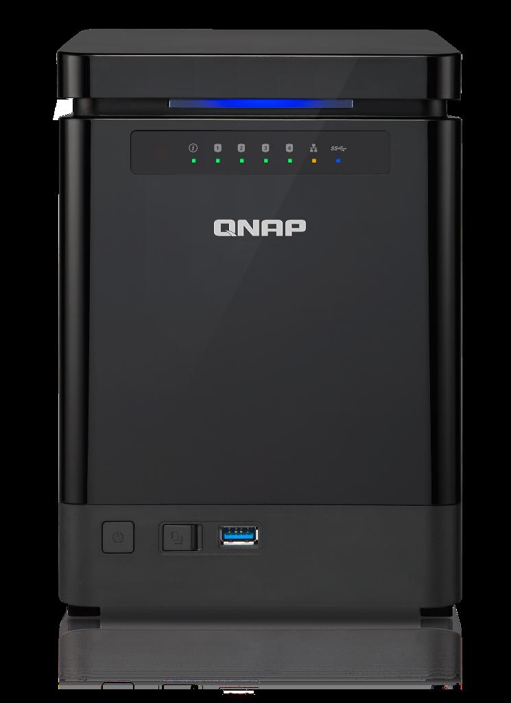 QNAP TS-453mini-8G TWR 4x 2.5/3.5 SATA Celeron 2.0 QC 8GB DDR3L 2xGlan