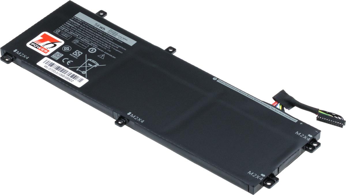 Baterie T6 power Dell Precision 15 5520, 5530, XPS 15 9560, 9570, 4900mAh, 56Wh, 3cell, Li-pol