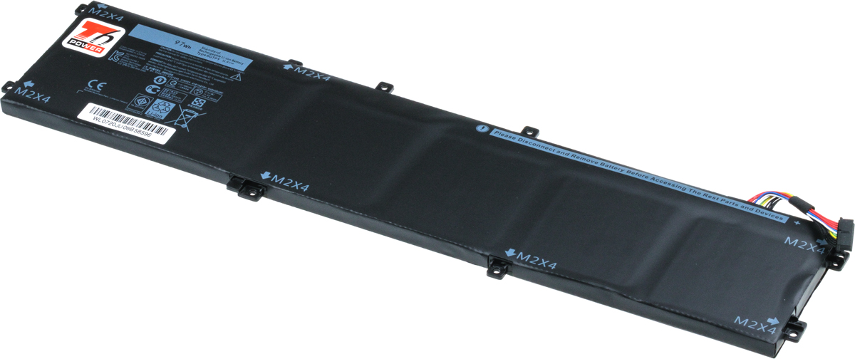 Baterie T6 power Dell Precision 15 5520, 5530, XPS 15 9560, 9570, 8500mAh, 97Wh, 6cell, Li-pol