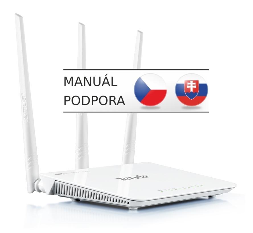 Tenda F303 (F3) WiFi-N Router, 300Mbps, 3x5dBi Ant
