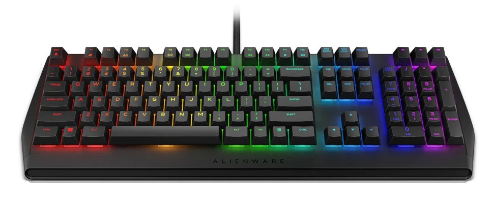 Alienware Mechanical RGB Gaming Keyboard - AW410K US Int. (QWERTY)