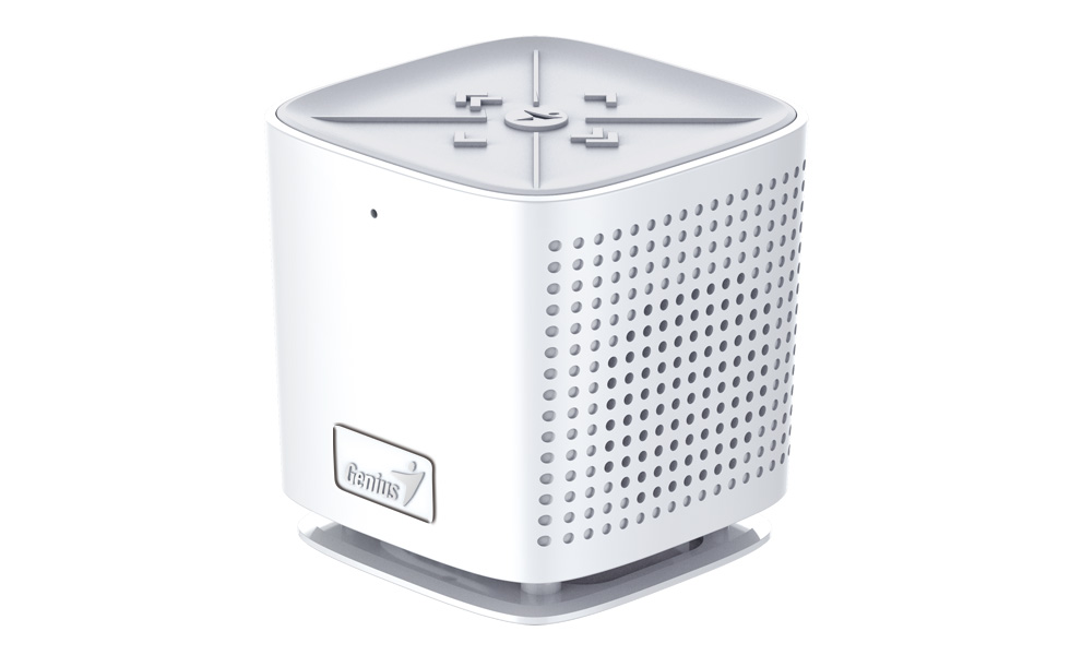GENIUS repro SP-920BT/ Bluetooth 4.0/ dobíjecí/ mikrofon/ bílý
