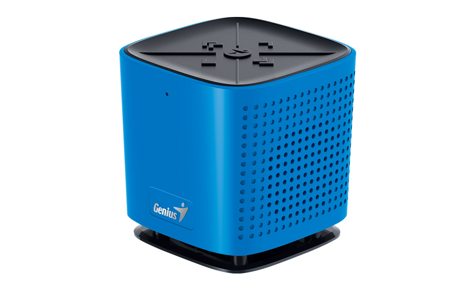 GENIUS repro SP-920BT/ Bluetooth 4.0/ dobíjecí/ mikrofon/ modrý