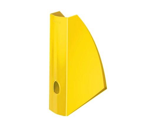 Stojan na časopisy Leitz WOW, žlutá