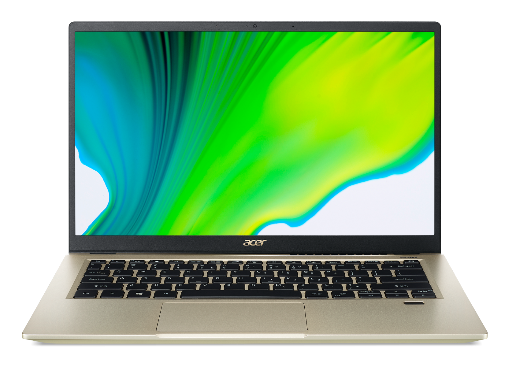 "ACER NTB Swift 3X (SF314-510G-74HW) - 14"" IPS FHD,i7-1165G7,16GB,1TBSSD,Iris Xe Graphics,W10H,Zlatá"