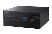 "ASUS PC PN40 - Pentium N5000 - FANLESS, bez RAM, 1*M.2 Slot+ 1* 2.5""slot, intel HD, VGA, WiFi, BT, bez OS, černý FANLESS"