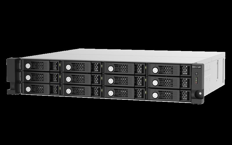 QNAP TL-R1220Sep-RP - úložná jednotka JBOD SAS (12x SAS/SATA, 4 x SFF-8644), rack