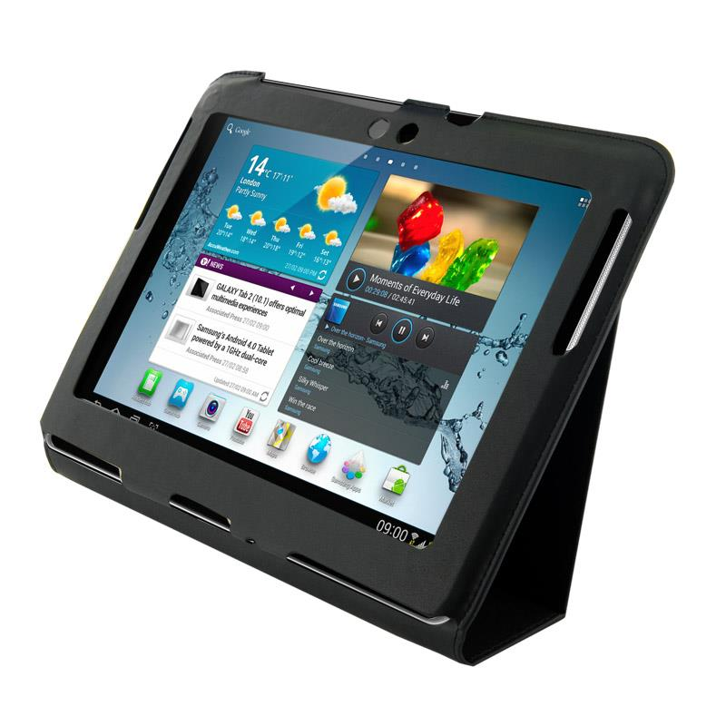 4World Pouzdro - stojan pro Galaxy Tab 2, Ultra Slim, 10'', černý