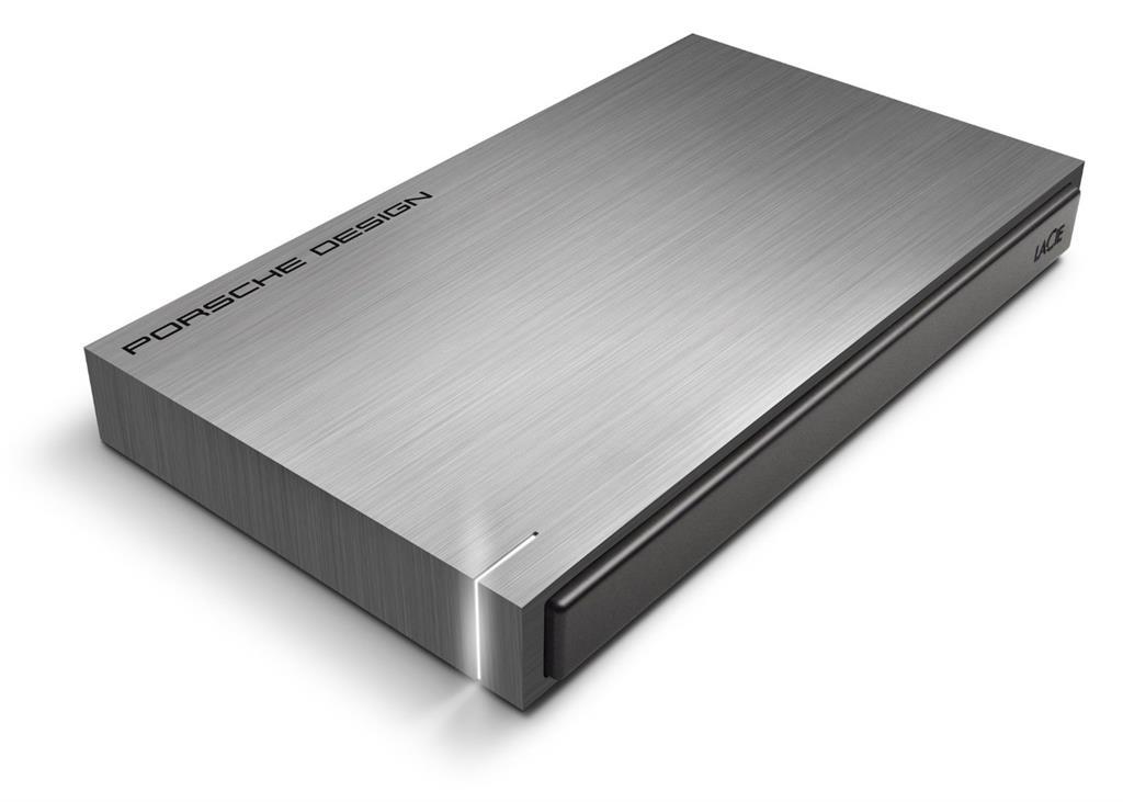 Ext. HDD LaCie Porsche Design Mobile 500GB tm.šedá