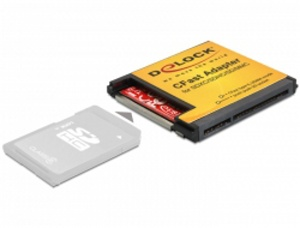 Delock CFast adaptér > SD / MMC paměťové karty