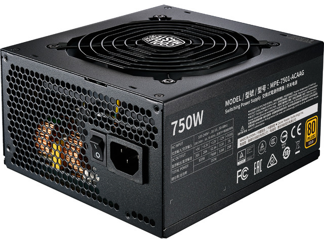 Cooler Master zdroj MWE 750 Gold-v2 Full modular, 750W, 80+ Gold