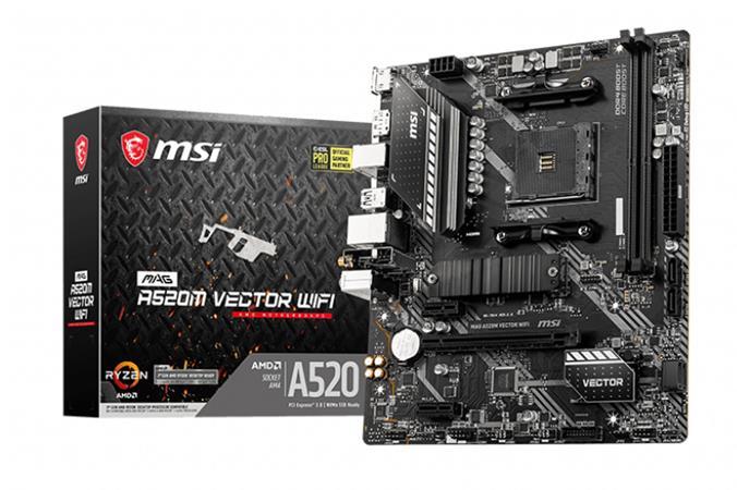 MSI MAG A520M VECTOR WIFI