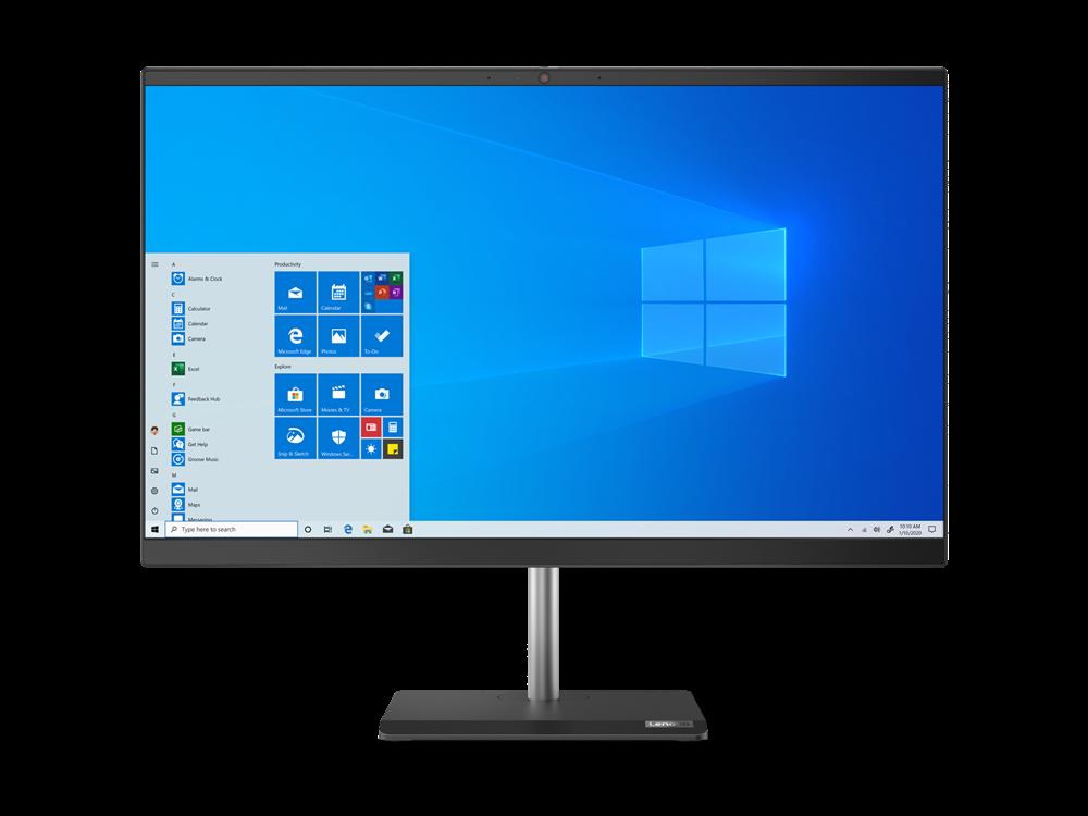 "Lenovo AIO V50a 23,8"" FHD/i3-10100T/4GB+4GB/256GB SSD/UHD Graphics 630/DVD-RW/Win10 PRO"