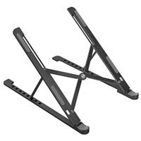 LAUT Work Station – přenosný stojan na notebook / tablet, černý