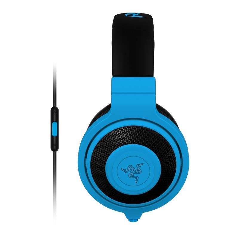 Razer KRAKEN MOBILE Neon Blue Gaming Headset